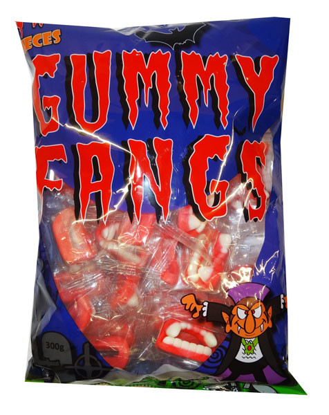 Lolliland Gummy Fangs, by Lolliland,  and more Confectionery at The Professors Online Lolly Shop. (Image Number :9344)