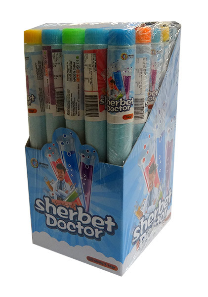 Sherbet Doctor Test Tube and more Confectionery at The Professors Online Lolly Shop. (Image Number :10190)