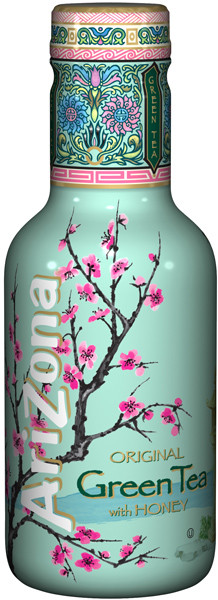 Arizona Ice Tea - Green Tea with Honey, by Arizona,  and more Beverages at The Professors Online Lolly Shop. (Image Number :9358)