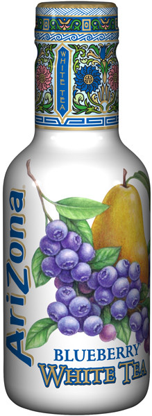 Arizona Ice Tea - Blueberry White, by Arizona,  and more Beverages at The Professors Online Lolly Shop. (Image Number :9355)
