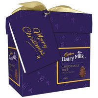 Cadbury Christmas Tree Gift Box, by Cadbury,  and more Confectionery at The Professors Online Lolly Shop. (Image Number :9362)