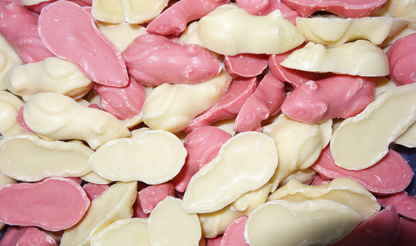 Pick n Mix - Giant Pink & White Mice and more Confectionery at The Professors Online Lolly Shop. (Image Number :9514)