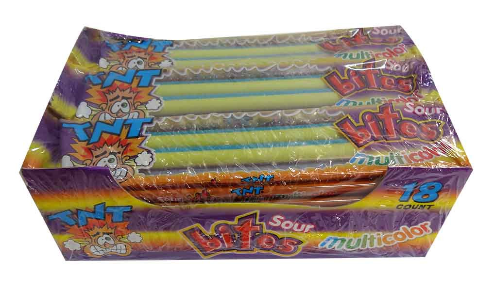 TNT Sour Bites Multicolour Packs, by TNT,  and more Confectionery at The Professors Online Lolly Shop. (Image Number :10013)
