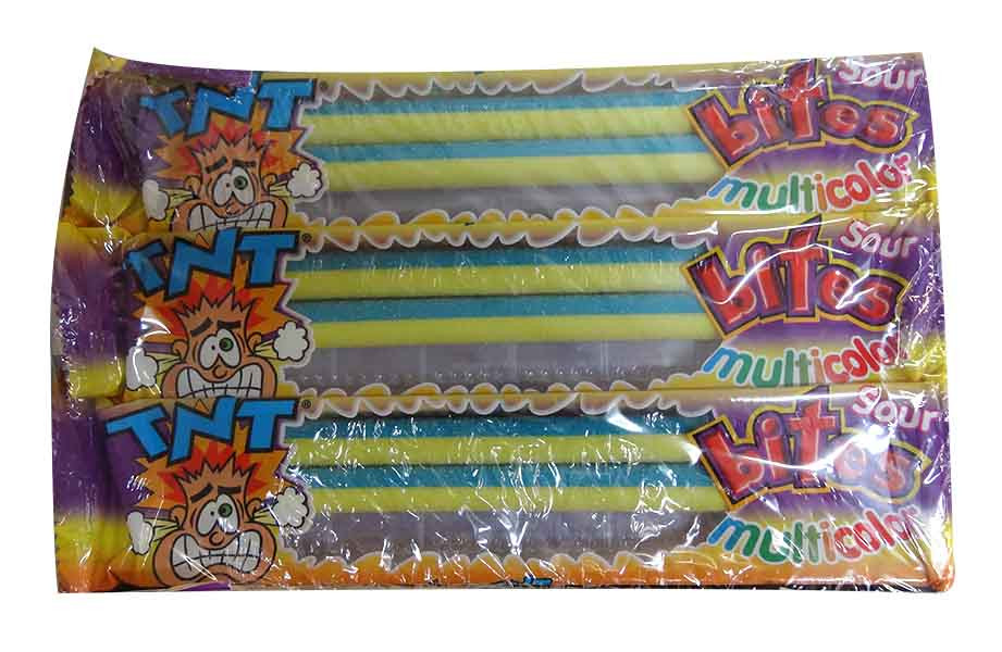 TNT Sour Bites Multicolour Packs, by TNT,  and more Confectionery at The Professors Online Lolly Shop. (Image Number :10014)