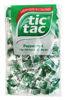 Tic Tac - Pillow Pack - Peppermint, by Ferrero,  and more Confectionery at The Professors Online Lolly Shop. (Image Number :9527)