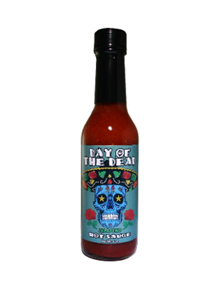 Day of the Dead Jalapeno Hot Sauce, by Southwest Specialty Food Inc,  and more Snack Foods at The Professors Online Lolly Shop. (Image Number :9804)
