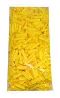 Premium Mini Fruit Sticks - Yellow with a Lemon Flavour, by Cooks Confectionery,  and more Confectionery at The Professors Online Lolly Shop. (Image Number :10003)
