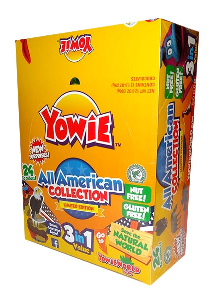 Yowie - All American Edition and more Confectionery at The Professors Online Lolly Shop. (Image Number :9964)