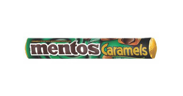 Mentos Choco Roll - Mint at The Professors Online Lolly Shop. (Image Number :9929)