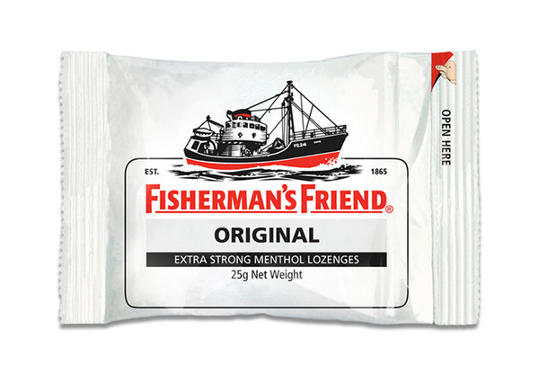 Fishermans Friends - Original Extra Strong Menthol, by Lofthouse,  and more Confectionery at The Professors Online Lolly Shop. (Image Number :9876)