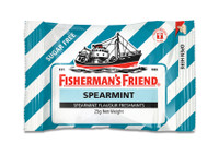 Fishermans Friend - Spearmint Sugar Free, by Lofthouse,  and more Confectionery at The Professors Online Lolly Shop. (Image Number :9877)