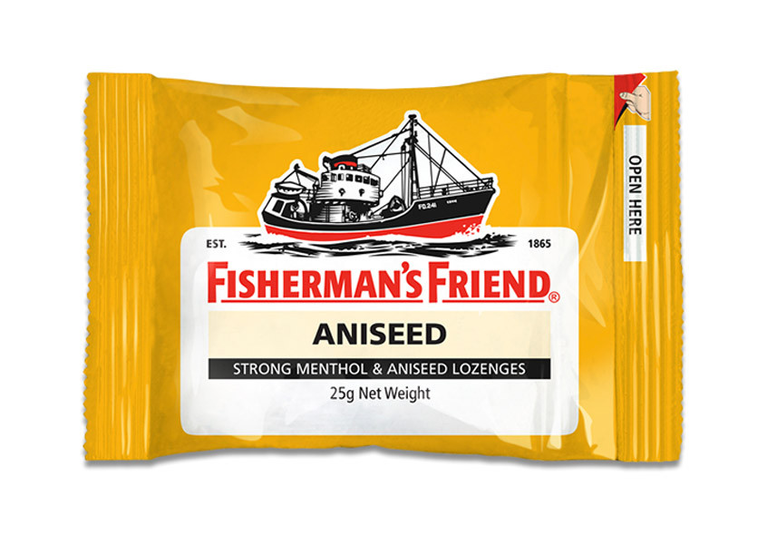 Fishermans Friend - Strong Menthol and Aniseed, by Lofthouse,  and more Confectionery at The Professors Online Lolly Shop. (Image Number :9871)