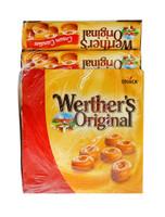 Werthers Original - Classic Cream Candies Rolls (50g rolls x 24pc display unit)