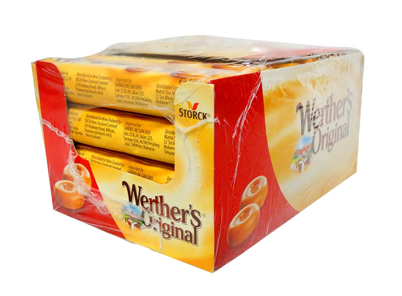 Werthers Original - Classic Cream Candies Rolls, by Storck,  and more Confectionery at The Professors Online Lolly Shop. (Image Number :10770)