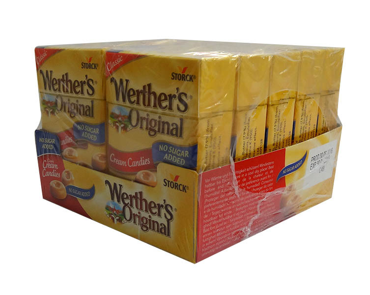 Werthers Original - Sugar Free Cream Candies, by Storck,  and more Confectionery at The Professors Online Lolly Shop. (Image Number :10166)