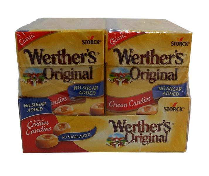 Werthers Original - Sugar Free Cream Candies, by Storck,  and more Confectionery at The Professors Online Lolly Shop. (Image Number :10167)