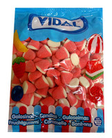 Vidal Strawberry and Cream Drops, by vidal,  and more Confectionery at The Professors Online Lolly Shop. (Image Number :10082)