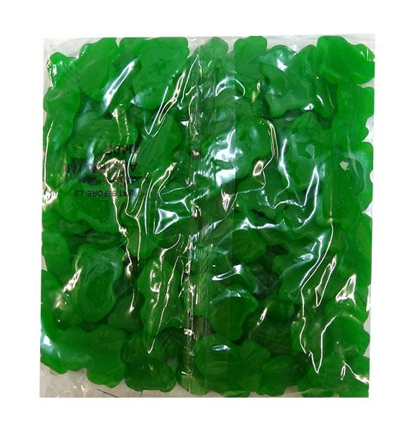 Allseps Frogs - Green, by Allseps,  and more Confectionery at The Professors Online Lolly Shop. (Image Number :10152)