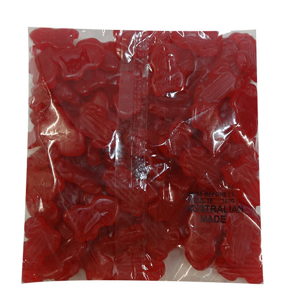 Allseps Frogs - Red, by Allseps,  and more Confectionery at The Professors Online Lolly Shop. (Image Number :10145)