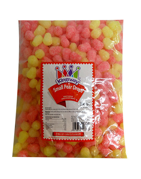 Kingsway Pear Drops, by Kingsway,  and more Confectionery at The Professors Online Lolly Shop. (Image Number :10137)