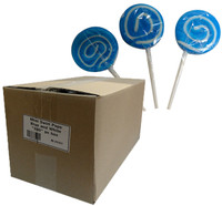 Mini Swirl Pops - Blue and White and more Confectionery at The Professors Online Lolly Shop. (Image Number :10157)