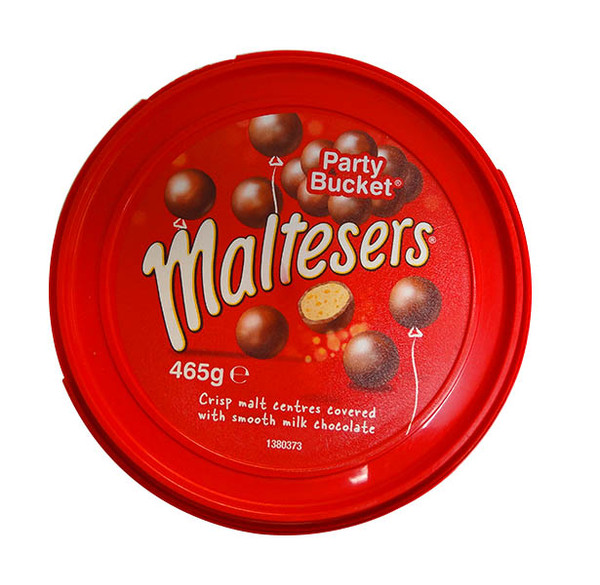 Maltesers Party Bucket, by Mars,  and more Confectionery at The Professors Online Lolly Shop. (Image Number :10318)