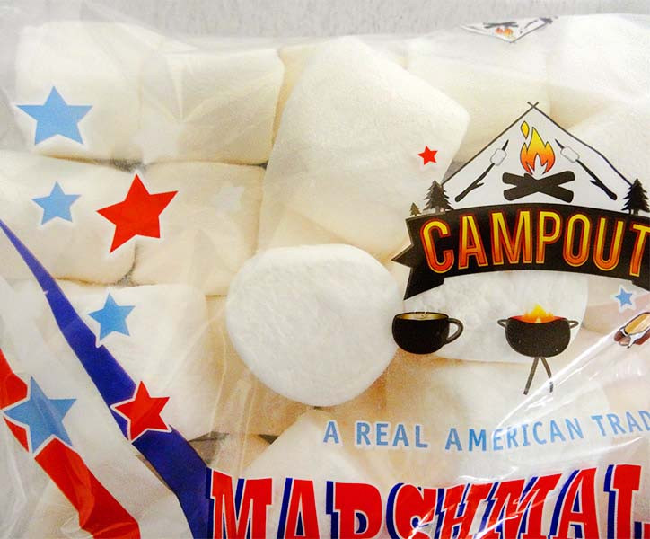 CampOut Giant Marshmallows - White and more Confectionery at The Professors Online Lolly Shop. (Image Number :13096)