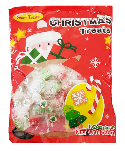 Sweet Treats Christmas Treats - Printed Candy, by Brisbane Bulk Supplies,  and more Confectionery at The Professors Online Lolly Shop. (Image Number :10751)