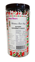 Twist Pops - Christmas Swirl, by Brisbane Bulk Supplies,  and more Confectionery at The Professors Online Lolly Shop. (Image Number :10755)