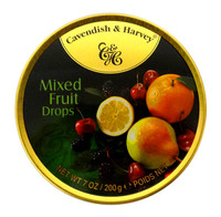 Cavendish & Harvey - Mixed Fruit Drops (10pc x 200g tin)