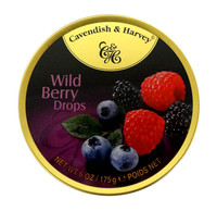 Cavendish & Harvey - Wild Berry Drops (10pc x 200g tin)