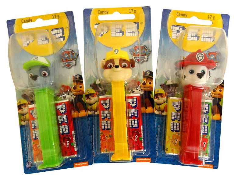 Pez Candy Dispensers - Paw Patrol, by Pez,  and more Confectionery at The Professors Online Lolly Shop. (Image Number :13640)
