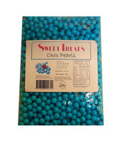 Sweet Treats Choc Pearls - Blue (1kg bag)