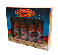Desert Creature Hot Sauce Gift Pack (4 x 142g bottles)