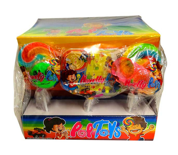 Novelty PopToys, by AIT Confectionery,  and more Confectionery at The Professors Online Lolly Shop. (Image Number :10448)