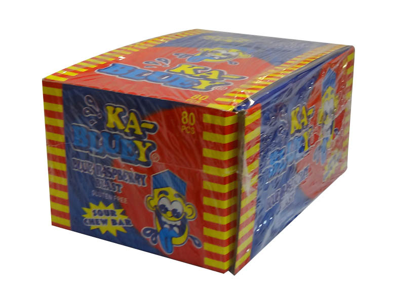 Ka-Bluey Blast Bars, by AIT Confectionery,  and more Confectionery at The Professors Online Lolly Shop. (Image Number :10313)