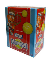 Vidal Smash - Tennis Ball Bubble Gum (200pc display box)