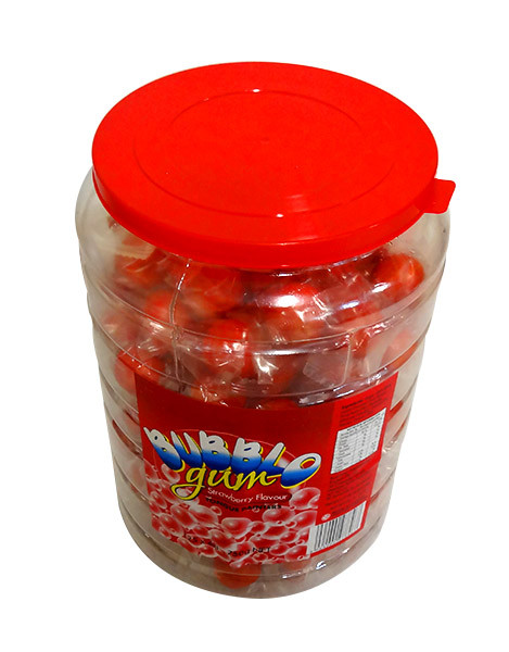 BubblO Gum Jar - Red and more Confectionery at The Professors Online Lolly Shop. (Image Number :10380)