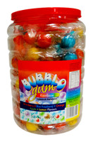 BubblO Gum Jar - Rainbow and more Confectionery at The Professors Online Lolly Shop. (Image Number :11315)
