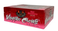 Vampire Chews - Sour Strawberry (18g x 60pc in a Display Unit)