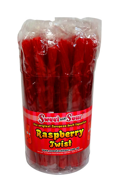 Sweet and Sour Fruit Liquorice Sticks - 4 Flavour Box, by Sweet and Sour,  and more Confectionery at The Professors Online Lolly Shop. (Image Number :10469)