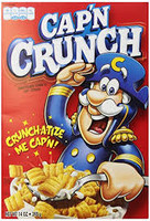 Cap n Crunch - Original and more Snack Foods at The Professors Online Lolly Shop. (Image Number :11813)