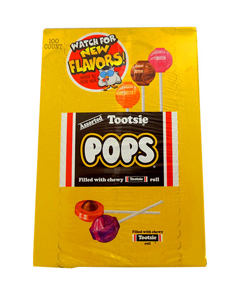 Tootsie Pops Assorted, by Tootsie Roll Industries,  and more Confectionery at The Professors Online Lolly Shop. (Image Number :10678)