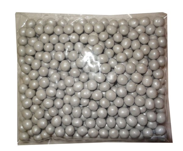 Shimmer Choc Balls - Silver, by Confectionery House,  and more Confectionery at The Professors Online Lolly Shop. (Image Number :10491)