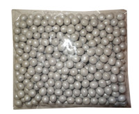 Shimmer Choc Balls - Silver (500g bag)