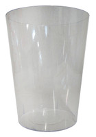 Clear Plastic Candy Buffet Cylinder - Large (15cm wide x 19.3cm high)