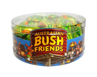 Australian Bush Friends Milk Chocolate - Frogs (825g tub - 15g x approx 55pc)