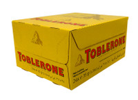Toblerone Milk Chocolate (35g bars x 24pc box)