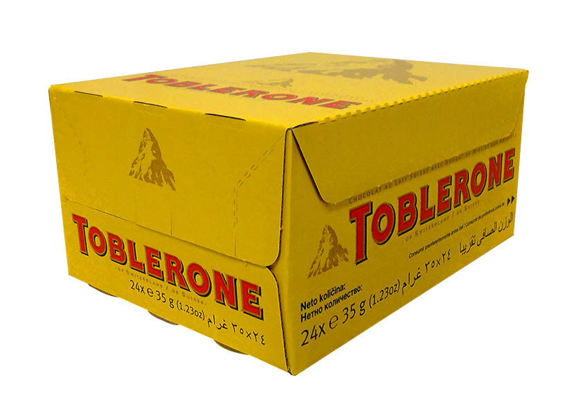 Toblerone Milk Chocolate and more Confectionery at The Professors Online Lolly Shop. (Image Number :10675)
