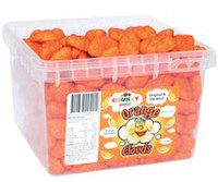 Chunky Funkeez Orange Clouds (Approx 300 clouds in a display container)